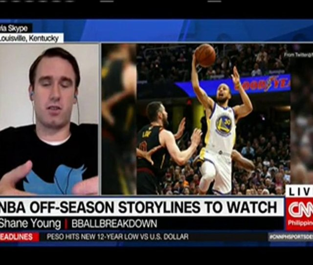 Cnn Philippines On Twitter Shane Young Youngnba Tells Us What To Expect In The Nba Off Season Https T Co Torcuyscdk