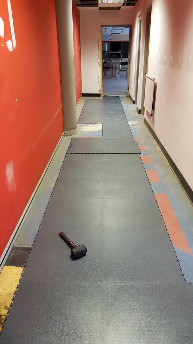 flexi tile on twitter damaged floors