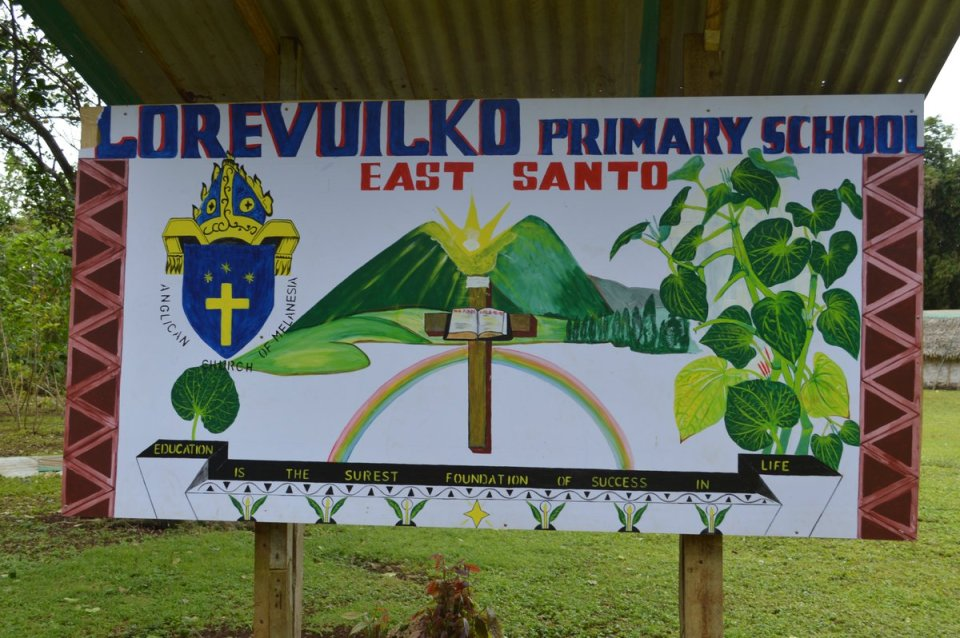 MMUK Executive Officer has been visiting schools in Vanuatu recently twinned with schools in @ChesterDiocese