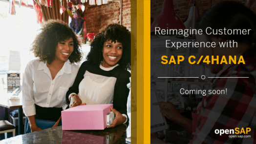 Resultado de imagem para Reimagine Customer Experience with SAP C/4HANA