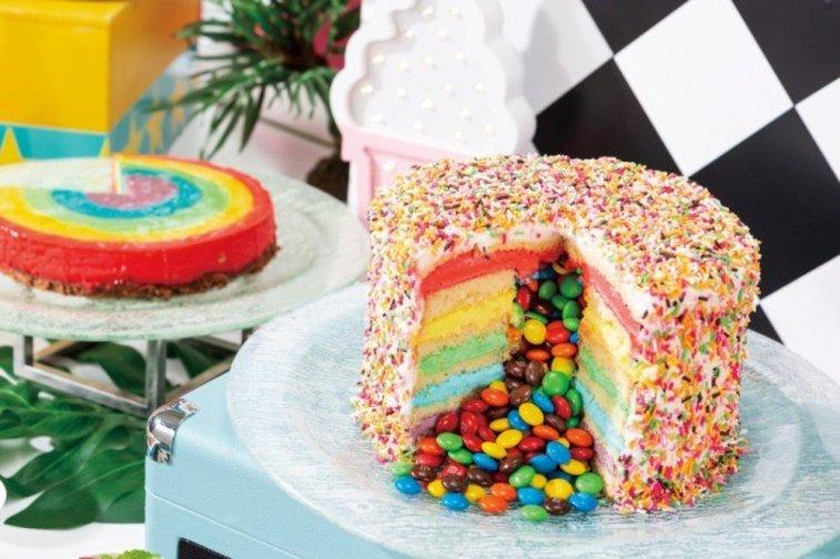 test ツイッターメディア - これ、ヒルトン東京ベイで夏の間やってるデザートビュッフェのケーキの画像・・・ハワイアンのテーマらしいけど、どう見てもバーチカルギロチンを喰らったメトロ星人さんを連想(ー_ー;いや、美味しそうなんだけどね。 https://t.co/wS9rT5LjIv