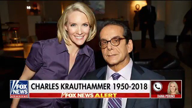 Image for the Tweet beginning: .@DanaPerino remembers longtime Fox News