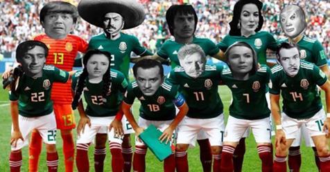 Memes del México vs Corea del Sur