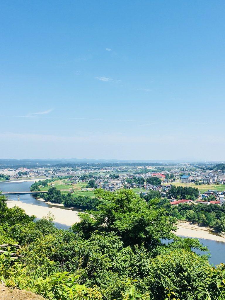 test ツイッターメディア - なかなかいい景観です。 ここでBBQ。  手前は信濃川、遠くは弥彦山。 https://t.co/RC1fpnRT2X