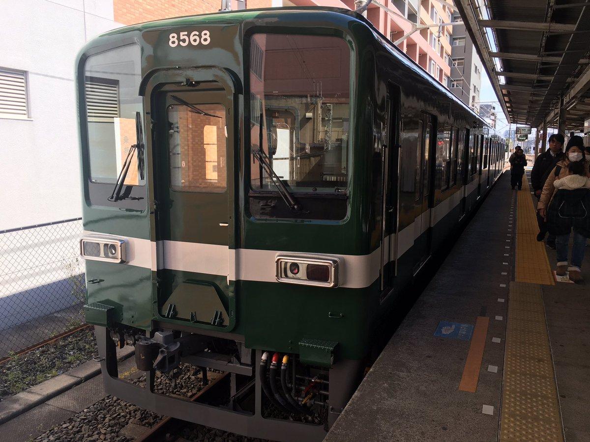 test ツイッターメディア - 塗装変更1週間程の頃… 亀戸駅にて撮影 #東武 #8000系 #8568F https://t.co/1MzWcrxcaA