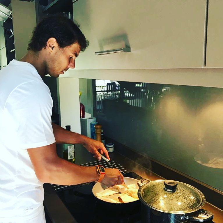 "Rafael Nadal Fans on Twitter: ""MasterChef 👨🍳 @RafaelNadal on ..."