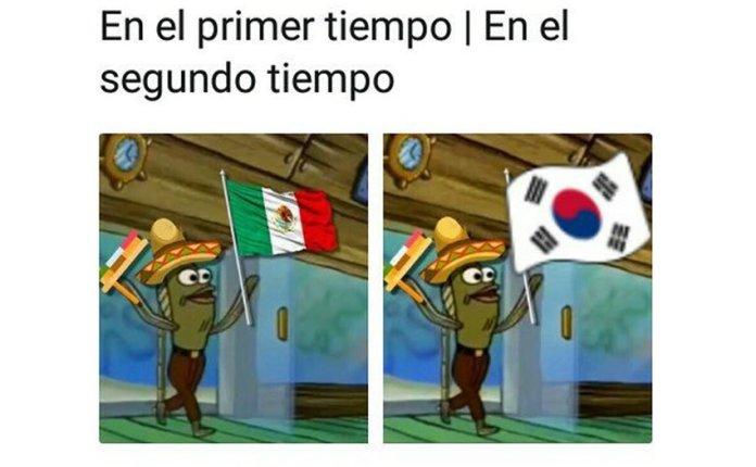 Memes de México vs Suecia