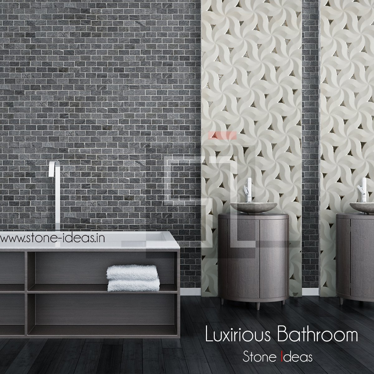 Stone Ideas On Twitter The Bathroom Wall That Make Big Impact Design A Bathroom Wall With Stone Ideas S Premium Bathroom Cladding Tiles Bathroom Bathroomdesign Ideas Interiors Wallcladding Stonecladding Stonetiles Walltiles Stonemosaic