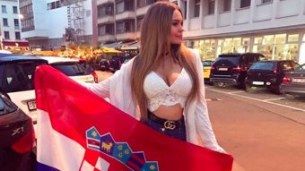 Croatian Claudia's Team Is Heading To The World Cup Final