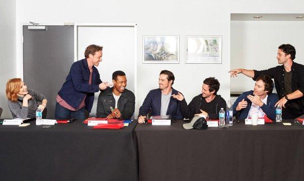 Dit is de volledige cast van IT Chap