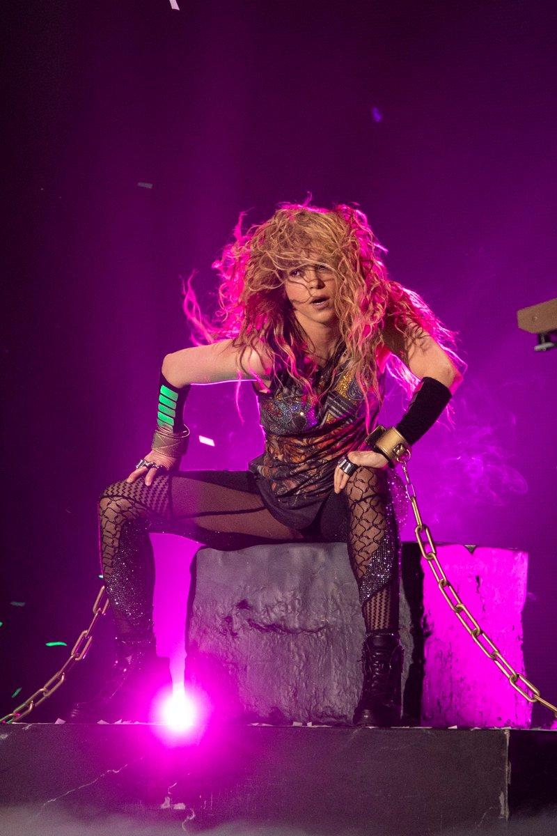 Shakira en el medio tiempo del Super Bowl 2020