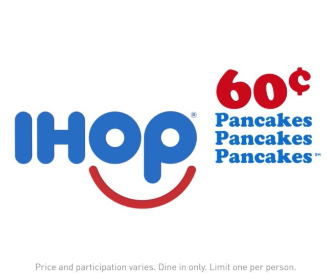 Thats Right Ihop Wed Never Turn Our Back On Pancakes Except For That Time