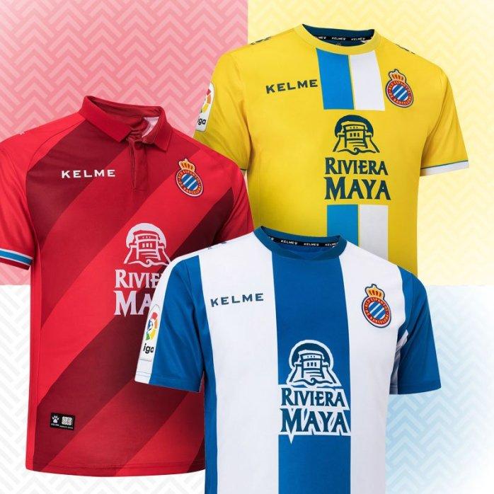Camiseta Espanyol Kelme