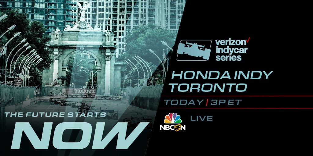 test Twitter Media - It's RACE DAY 🏁 at @hondaindy. 🇨🇦  ⏰ 3PM ET 📺 NBCSN 📈 https://t.co/SAdeSxSfa7 📲 @verizon INDYCAR Mobile 📻 @AdvanceAuto @IndyCarRadio Network #INDYCAR // #IndyTO https://t.co/z7W1eLAt9o