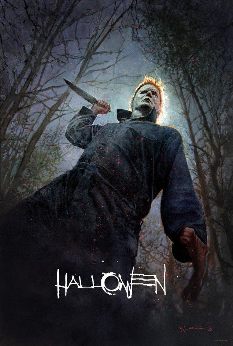DiXNctAUcAEnH64 - Poster sombrio do novo Halloween foi divulgado na Comic-Con. Veja um resumo de todos os filmes da série