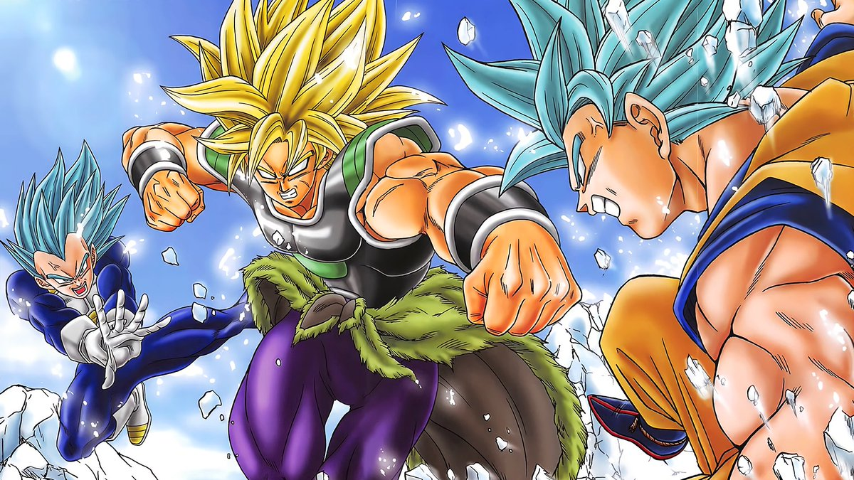 dragonball super broly movie poster