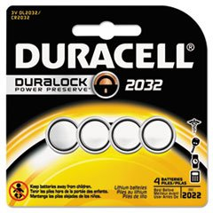 #2032 Duracell Duralock CR2032 Lithium Batteries 4 Pack - $5.93.....