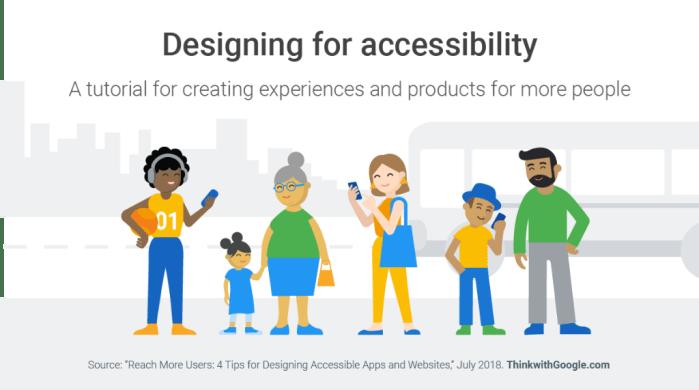 Diseñando para la accesibilidad: Un tutorial para crear experiencias y productos para más personas