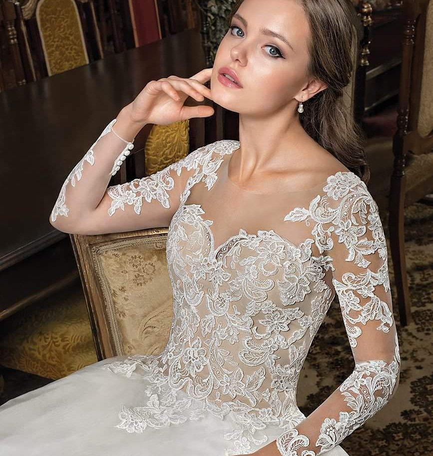 tendance robe de mariée 2019 : grands stylistes 2