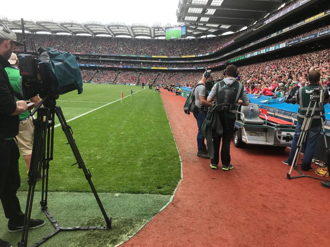 test Twitter Media - We are in Croke Park today for TG4, RTE and Sky. It's Kilkenny v Tipp in the Minor and Cork v Limerick in the Senior Hurling Semi finals. https://t.co/GZJOAhMM9g