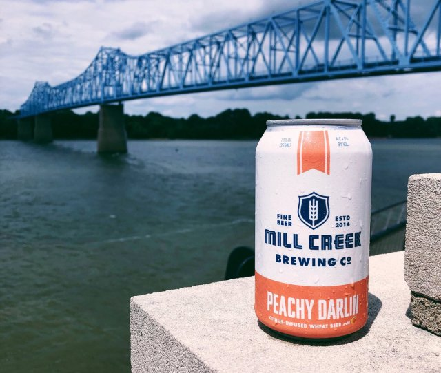 Peachy Darlin Sittin Pretty Above The Blue Waters Of Owensboro Ky Tag Us In Your Photos And Share Where You Enjoy A Cold Mill Creek