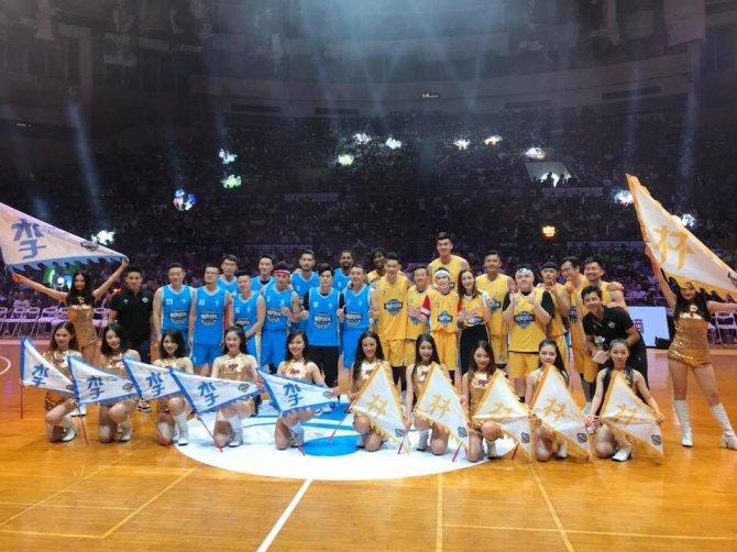 RT @penny10654 @JLin7 @SDinwiddie_25 @IAmCHAP24 @joetsai1999 at 2018 Jeremy Lin All Star Game in Shenzhen tonight. #brooklynnets #nets #hawks #2018林書豪明星賽 #jeremylin #NeverDone