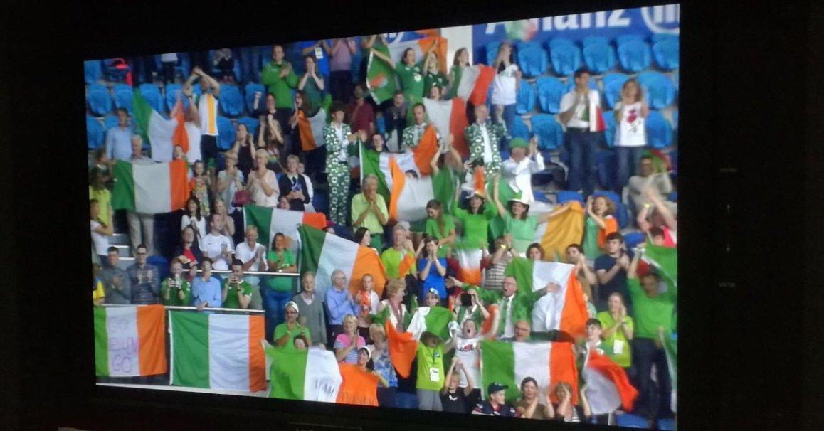 test Twitter Media - Ellen Keane getting Ireland's first medal at the @Paraswimming European Championships @ParalympicsIRE @AllianzIreland @swimireland @olympiccouncil  #Dublin2018 @nacdublin🥉 https://t.co/UauyCQW5dN