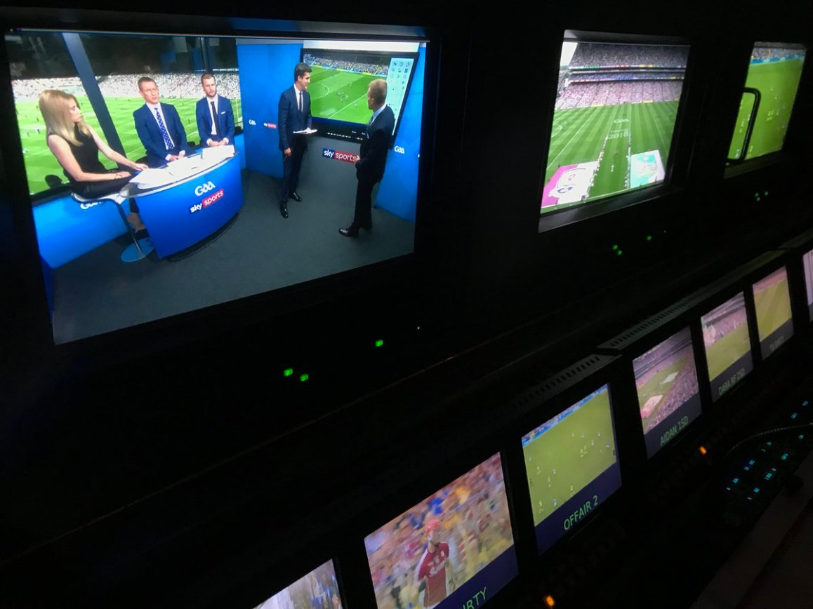 test Twitter Media - Busy bees today in Croke Park for the @SkySportsGAA coverage of @Galway_GAA v @LimerickCLG https://t.co/pFlTFkYo2e