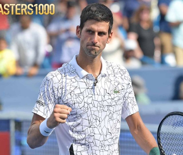 One Set From History  F0 9f 99 8c Novak Djokovic Takes The Opening Set Of The Cincytennis Final