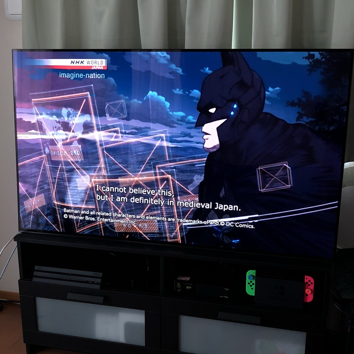 test ツイッターメディア - NHKワールドでニンジャバットマンの特集やってるぞい https://t.co/tmdC1KhJwa