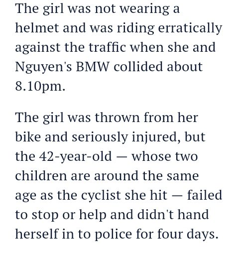 test Twitter Media - Coburg hit & run: judge sees 'no utility' in jailing woman who struck a young girl riding her bike, had girls hair embedded in smashed windscreen & then fucked off for 4 days. Plenty of blame shifting back on to minor, including no magical head covering https://t.co/qXmOIku9Rc https://t.co/sZKIuxr0g1