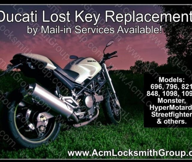 Acm Locksmith Group On Twitter Lost Your Ducati Keys No Problem  Lost Key Replacement  Keys By Code  Programming Https T Co Srigpjvw