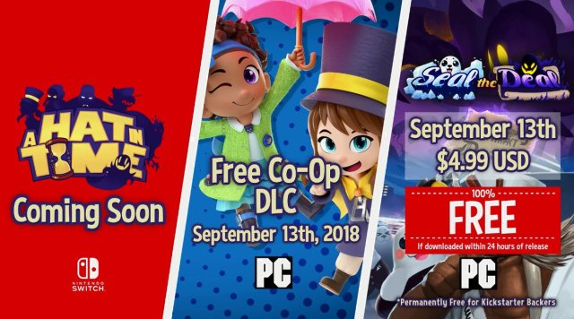 RT @Wario64: A Hat in Time is coming to Nintendo Switch https://t.co/Qw69kJ13g3
