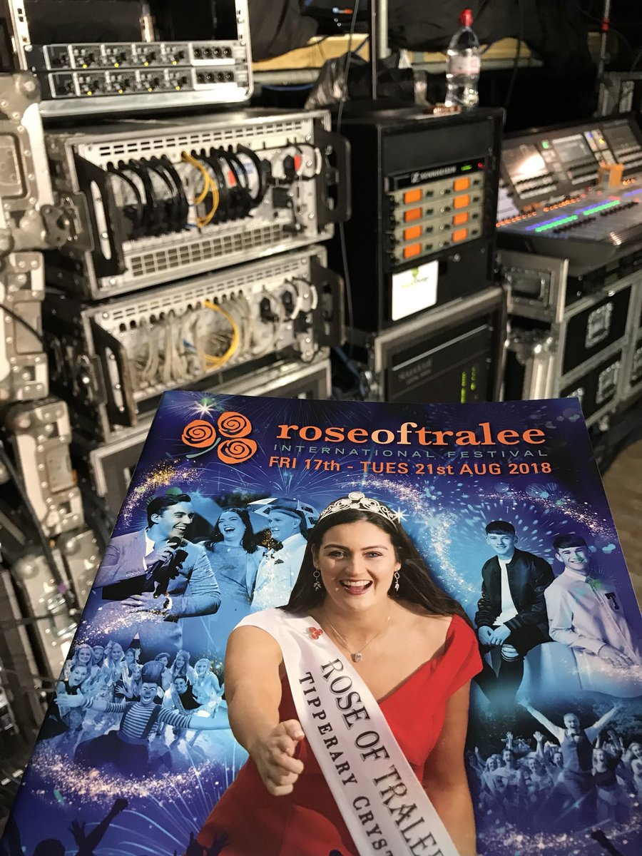 test Twitter Media - Getting ready for the second night at the Dome for The @RoseofTralee_ 2018  Live from 20.00 on @RTEOne  🌹 https://t.co/aeDszjZ7AU