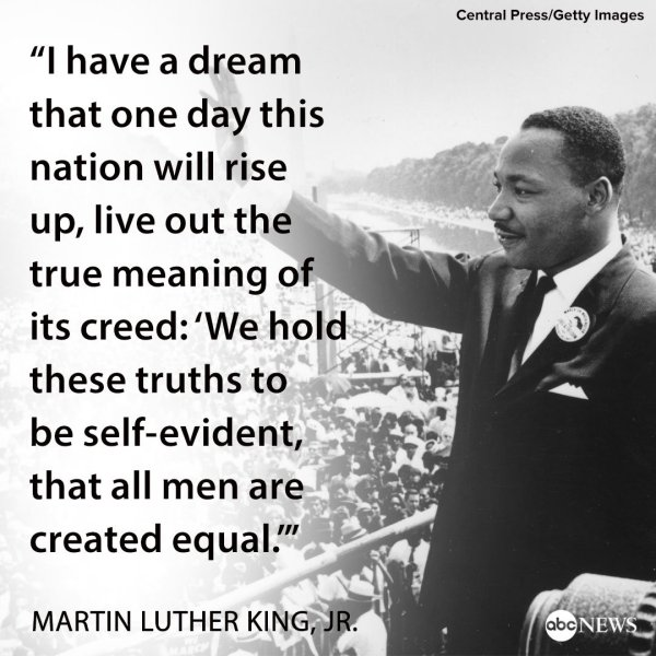martin luther king i have a dream # 9