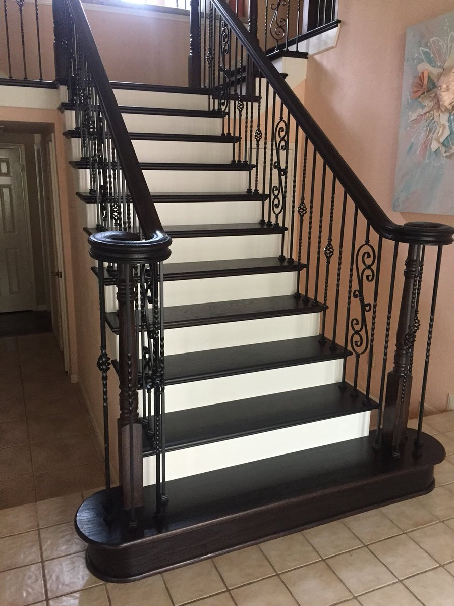 Venetian Stairs On Twitter A Complete Stair Remodel At The