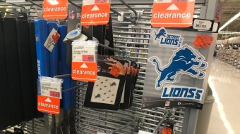 Lions Fans Are Fighting & Meijer Is Clearing Out Lions Novelty Items…It's Getting Ugly!