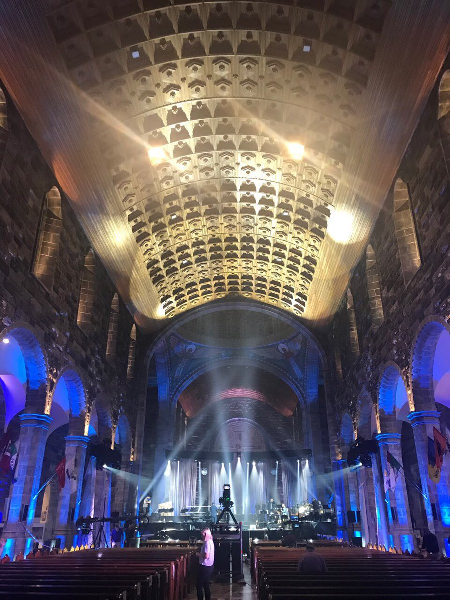 test Twitter Media - The stage is set at the Cathedral in Galway for Tommy Fleming, Voice of Hope II https://t.co/qj5ocl1tmG