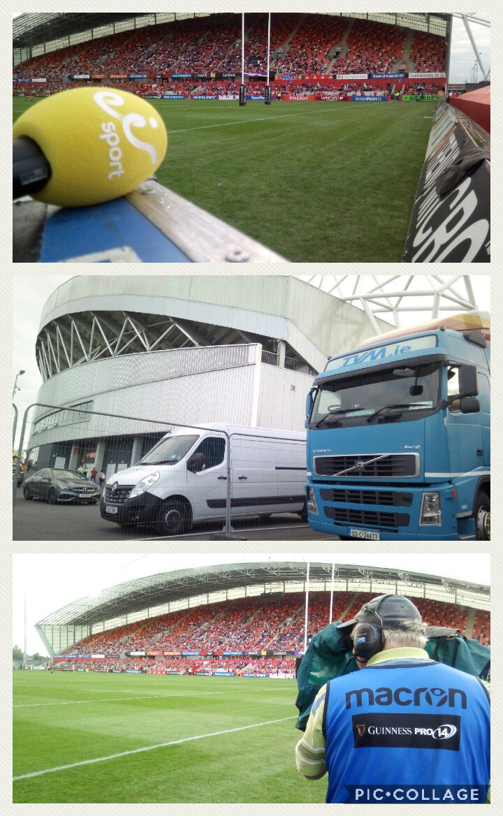 test Twitter Media - Its been busy day  @thomondstadium as we provided  facilities for @eirSport Pro14 coverage. https://t.co/h8d0Fw2xpO