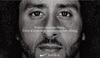 LOOK: Colin Kaepernick Is Face Of Nike's 30th Anniversary Campaign