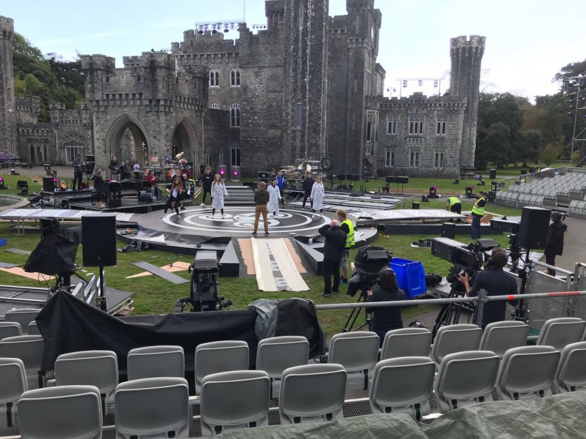 "test Twitter Media - Getting ready to film @Celtic_Woman for their @pbs  special ""Ancient Land"" in @johnstowncastle https://t.co/TCiVIQtrBc"