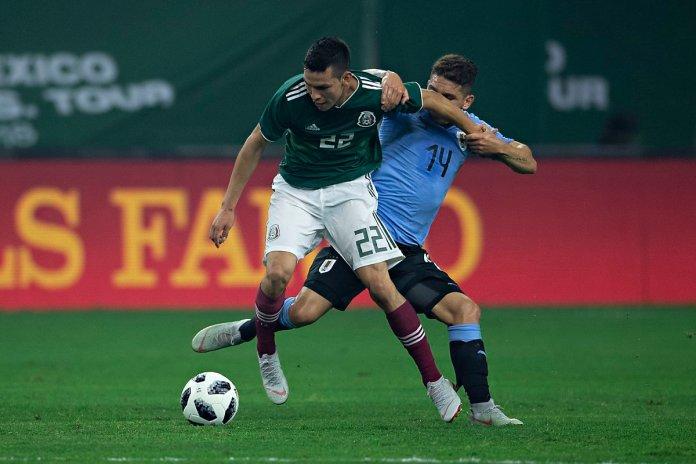 Goles de México vs Uruguay