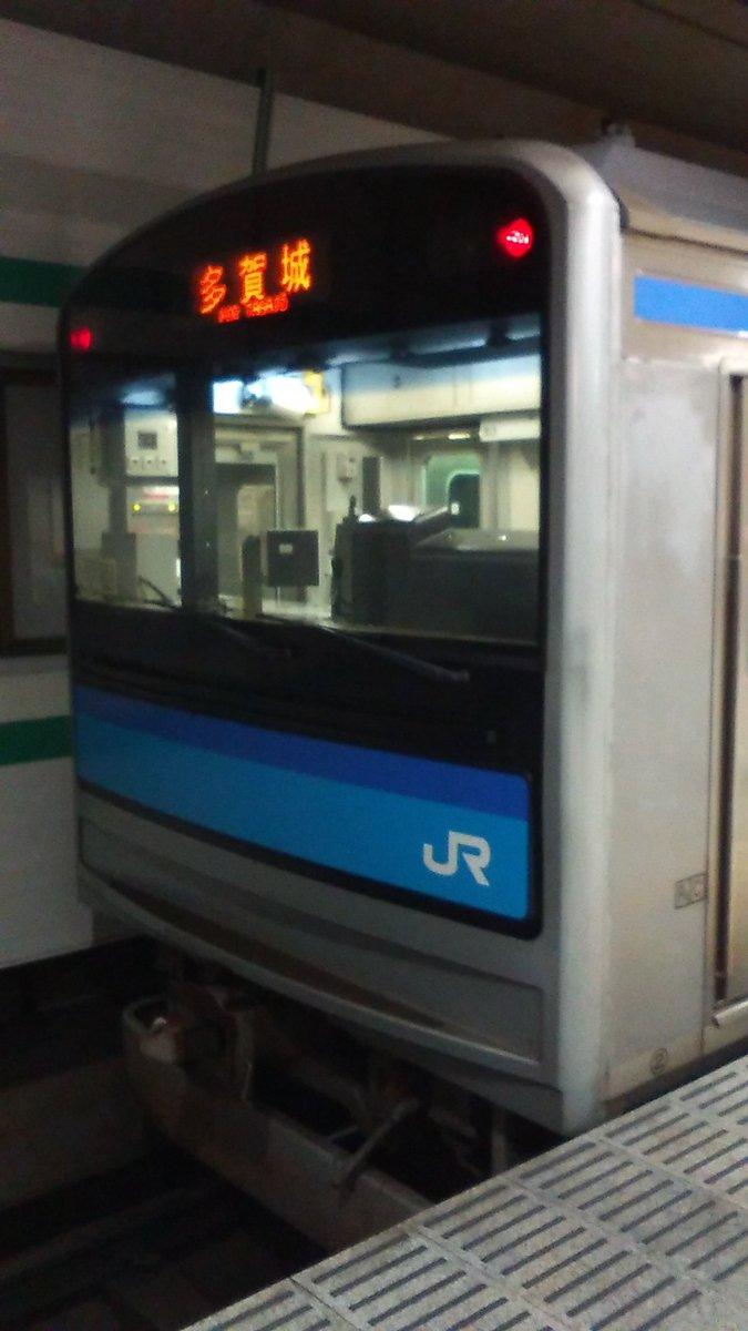 test ツイッターメディア - 奈良線……ではなく 阪和線……でもなく 仙石線に乗るっ  963S [ 普  通   多  賀  城 ] クハ205-3106 https://t.co/EDLPTsVDjQ