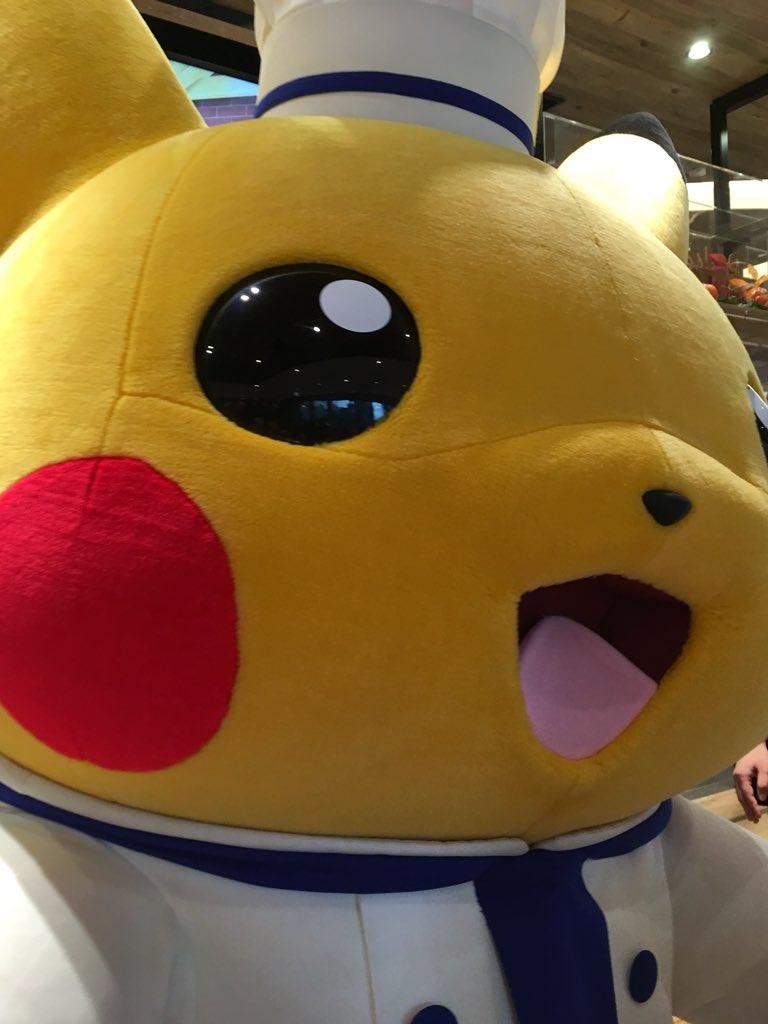 test ツイッターメディア - (ノ´▽`)ノオオオオッ! ピカチュウ〜♪ ポケモンカフェ♪  #ポケモンカフェ #ピカチュウ https://t.co/G3BSzaOVk2