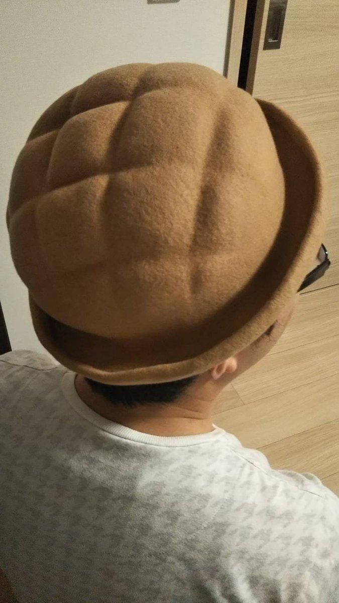 test ツイッターメディア - 池袋でパン雑貨市を見て、めっちゃ欲しくなったメロンパンハットを買いました。メロンパンの網目が再現された帽子、めっちゃよくないですか?????サイズがちょっと小さいのが残念だ( ´△`) https://t.co/bUflku0Eda