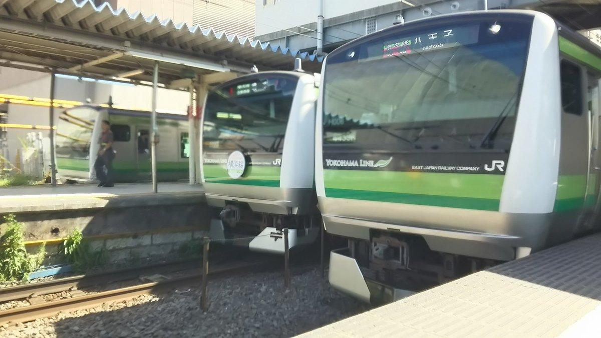 test ツイッターメディア - 横浜線110周年だぁ~! うぉあーーー! https://t.co/x9I7qEvqRL