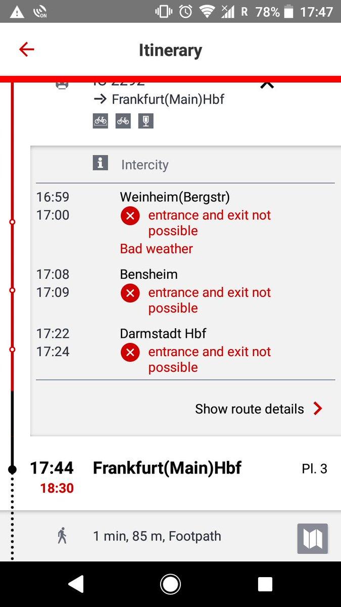 test ツイッターメディア - 遅延引き当てまくる僕、遂に電車が止まる 天気悪くて出入り口使えへんってどんだけなんw https://t.co/8pkm5TTacT