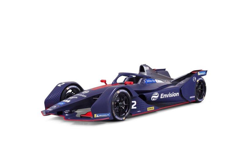Nuova monoposto Envision Virgin Racing.