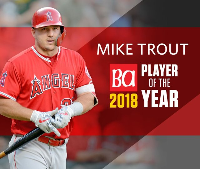 Angels Star Mike Trout Is The Baseball America Player Of The Year Https Buff Ly Yflrl Pic Twitter Com Gglyiftj