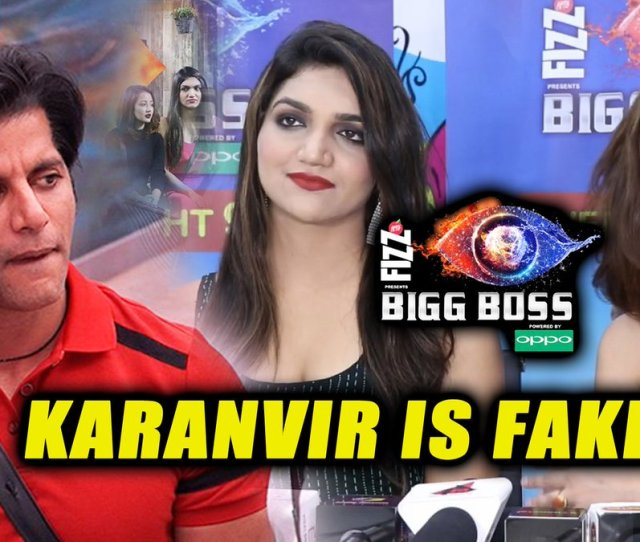 Bollywood Spy On Twitter Karanvirbohra Is Fake And Diplomatic Says Kritiverma And Roshmibanik Biggboss Elimination Interview Thekhbri Kvbohra